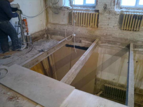 Демонтаж перекрытия, заказать в Минске