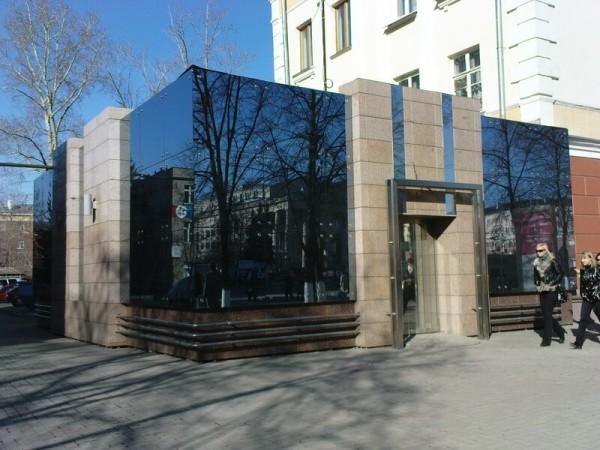 Стеклянный вентилируемый фасад, цена отделки в Минске