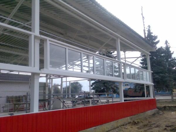 Изготовление магазина из металлоконструкций в Минске