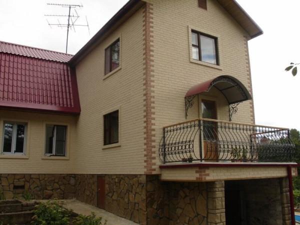 Отделка фасада плиткой, стоимость работ в Минске