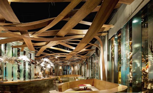 Изготовление деревянных ресторанов в Минске