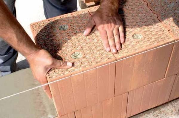 Кладка теплой керамики, стоимость в Минске