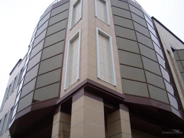 Облицовка фасадов композитной панелью, цена в Минске
