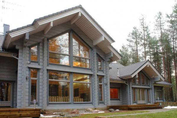 Финские дома из бруса, строительство в Минске