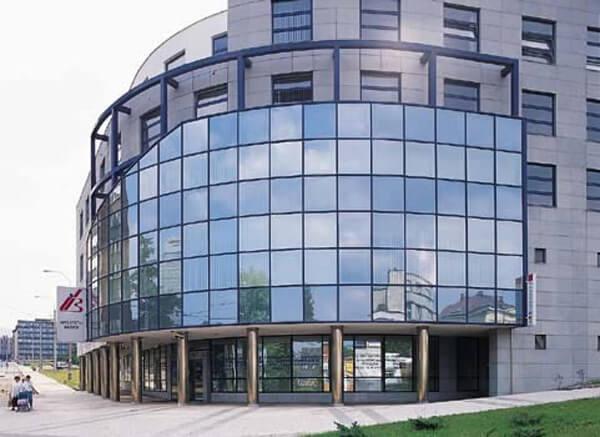 Вен фасад из стекла, цена в Минске