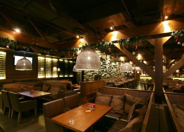 Заказать построить деревянное кафе в Минске