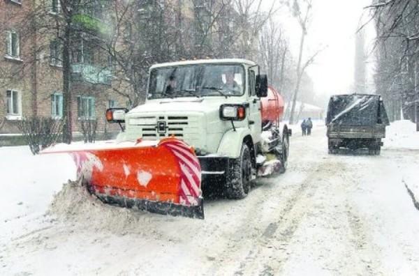 Очистка дорог от снега, цена в Минске