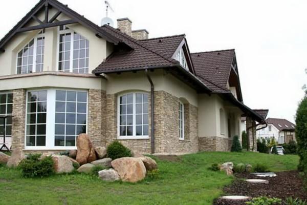 Заказать фасад из декоративного камня в Минске