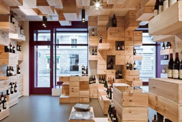 Строительство деревянных магазинов