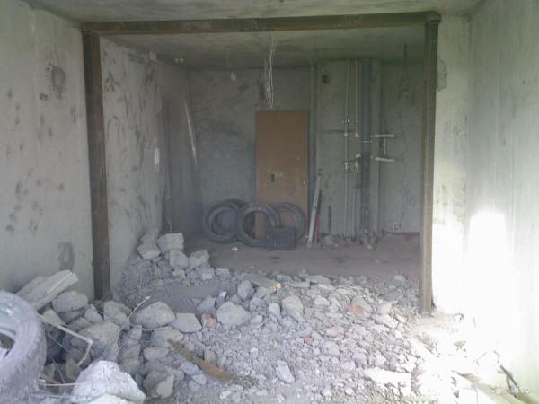 Разборка стен, заказать в  Минске
