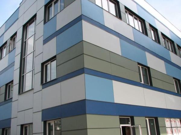 Заказать фасад из фиброцементных плит в Минске