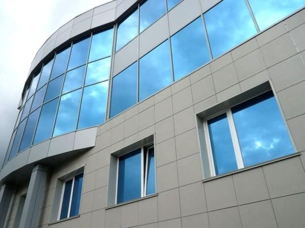 Отделка фасада композитными панелями, стоимость в Минске