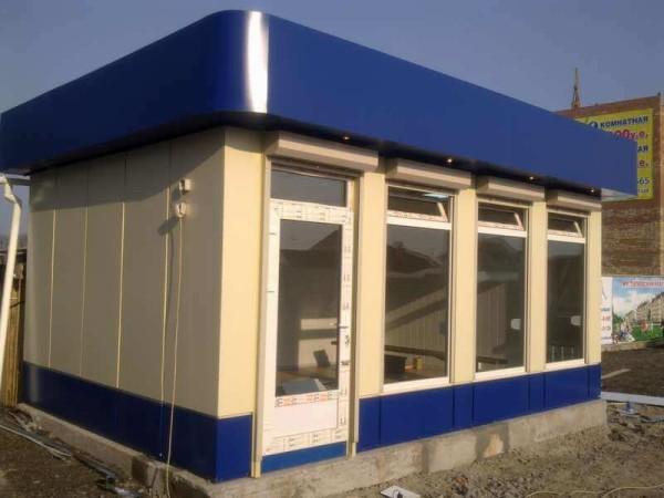 Строительство модульных киосков в Минске