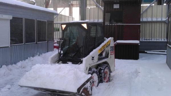 Заказать расчистку дорог от снега в Минске