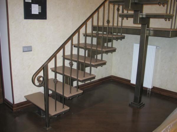 Цена кованой лестницы на заказ