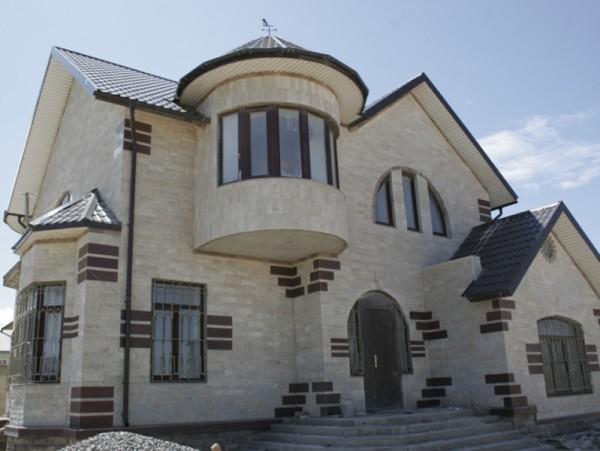 Вентилируемые фасады из декоративного камня, цена в Минске