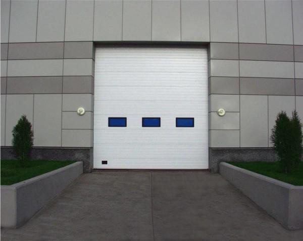 Стоимость за монтаж промышленных ворот в Минске