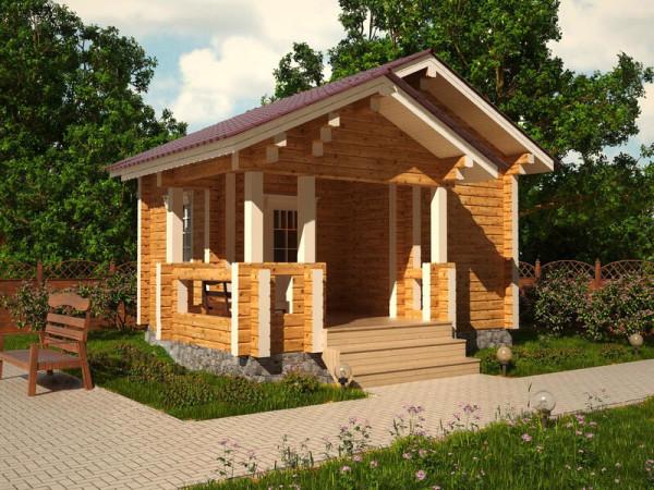 Построить баню из бруса в Минске