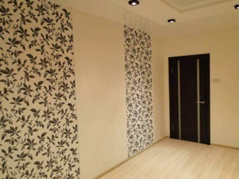 Отделка помещения, шпатлёвка, покраска стен и потолка