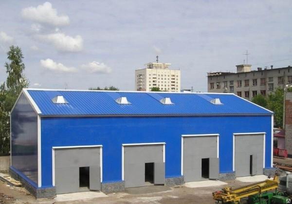 Заказать изготовление гаража из сэндвич-панелей в Минске