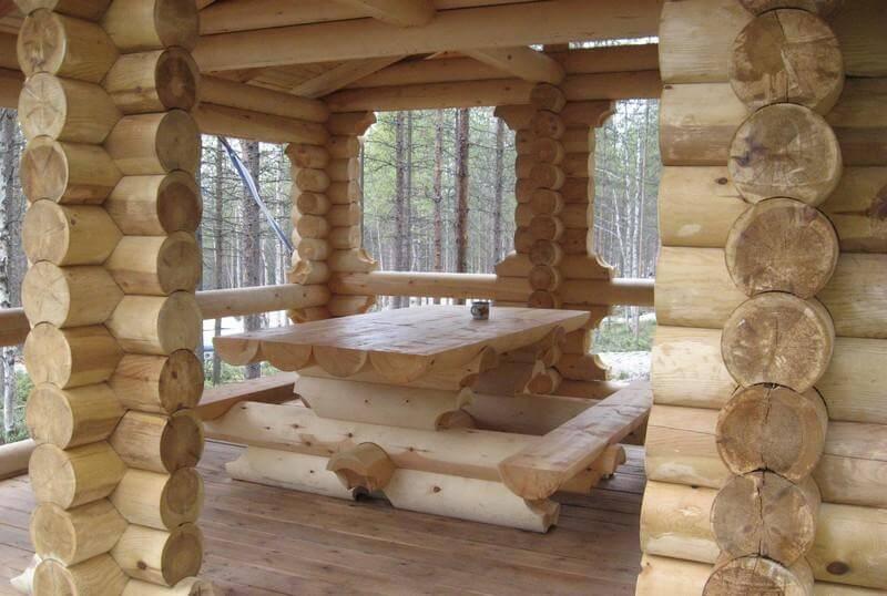 Как сделать деревянный сруб для дома 896