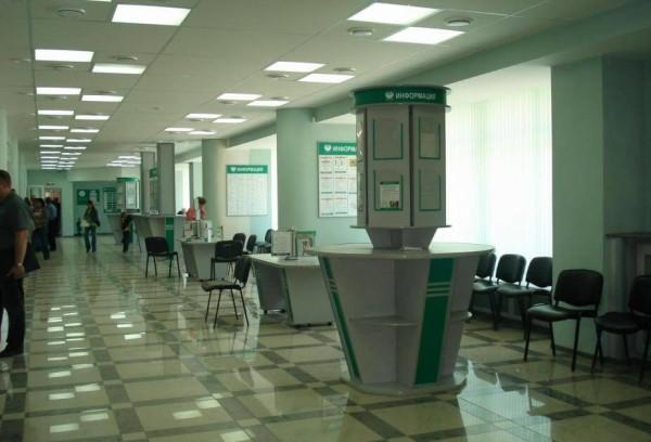 Внутренняя отделка банка в Минске