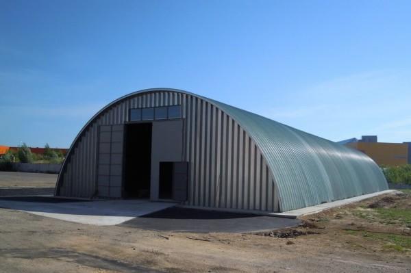 Заказать построить арочный производственный цех в Минске