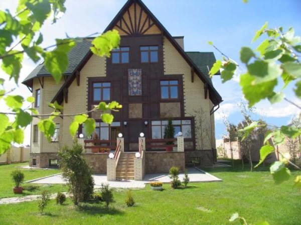 Цена строительства кирпичных коттеджей в Минске