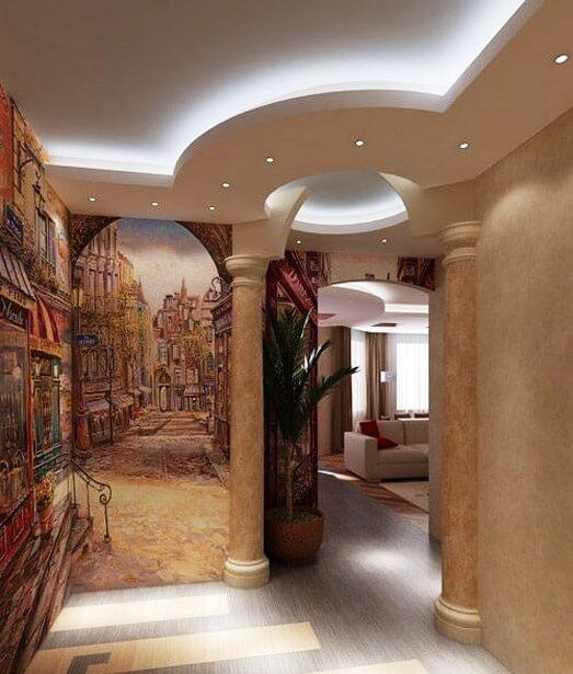 Художественная роспись стен, цена в Минске