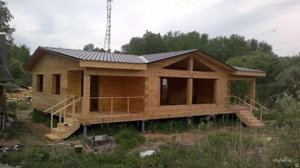 Строительство под ключ финских домов из бруса в Минске
