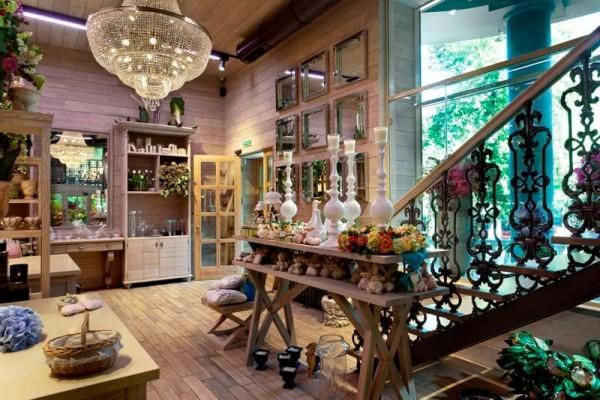 Деревянные магазины цена