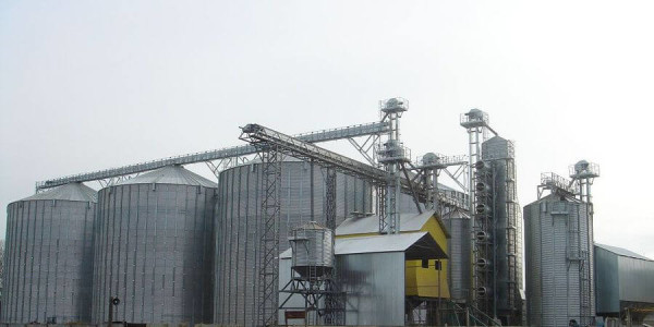 Строительство зернохранилища в Минске