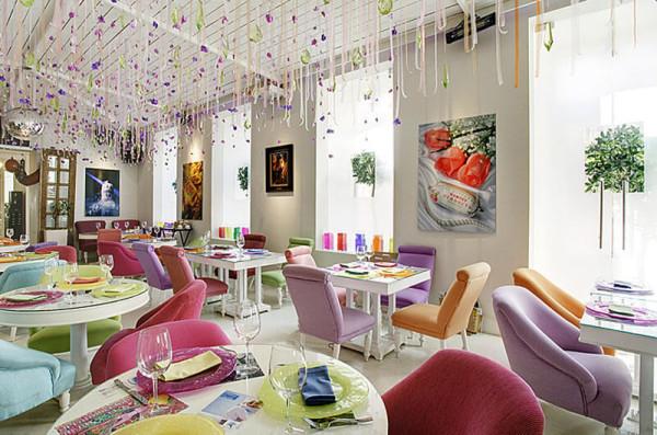 Цена дизайна интерьера ресторана в Минске