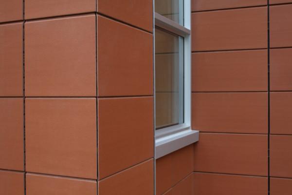 Фасад из терракотовых панелей цена