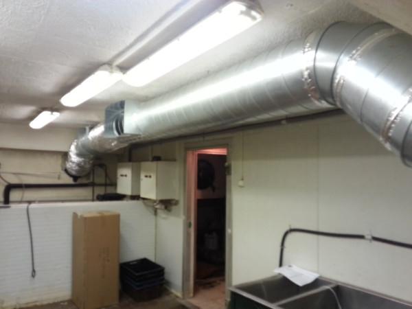 Цена установки вытяжной вентиляции под ключ в Минске