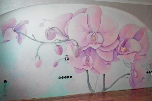 Роспись зала в Минске