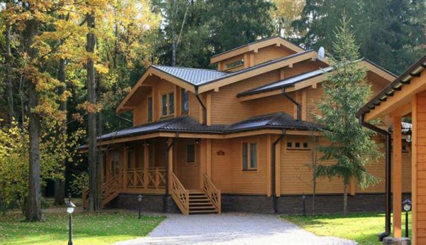 Финские дома из клееного бруса цена