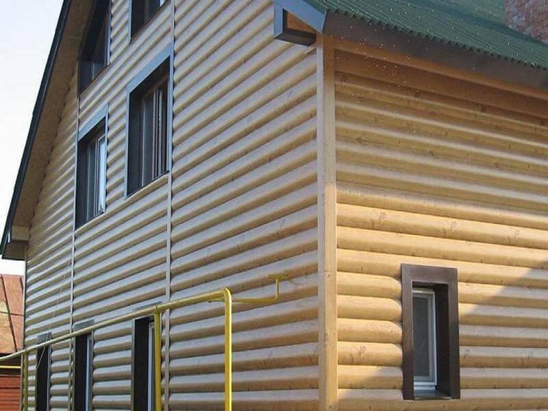 фото фасады из блокхауса