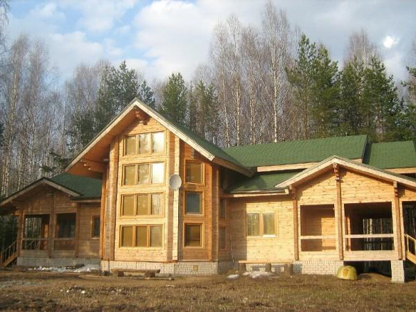 Построить финский дом из клееного бруса в Минске