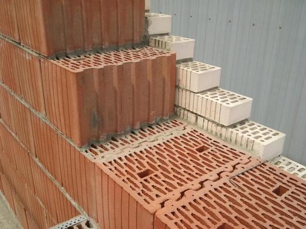 Кладка теплой керамики цена за куб