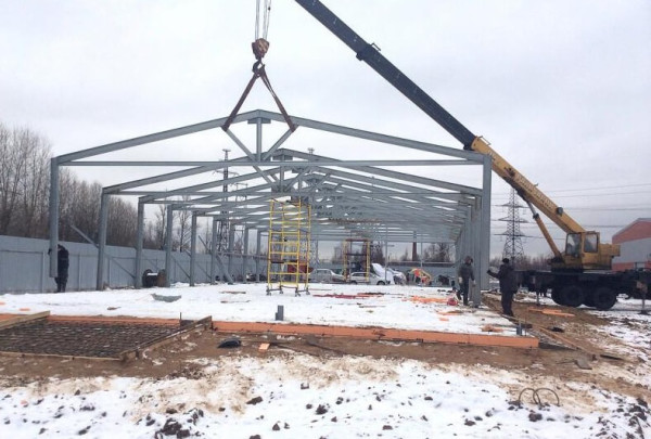 Заказать построить быстровозводимый ангар в Минске