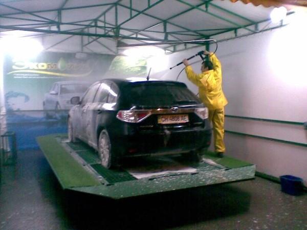 Строительство разборных автомоек в Минске