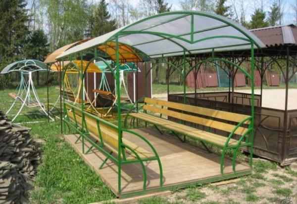 Купить каркасную беседку в Минске