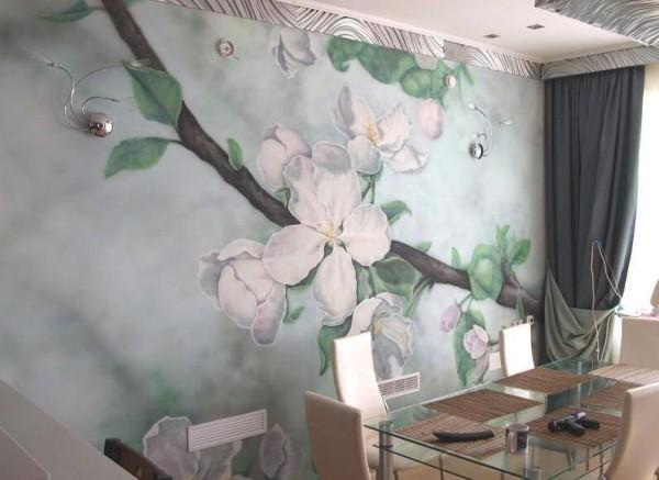 Роспись стен художником, цена в Минске