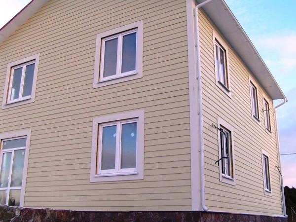 Монтаж фасадов сайдингом, стоимость в Минске