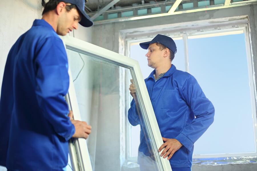 Замена окна, цена работ