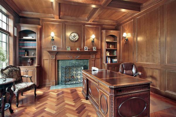 Заказать построить деревянный офис