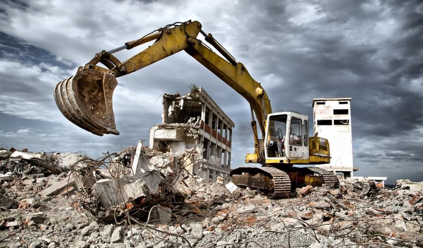Разборка и снос зданий заказать