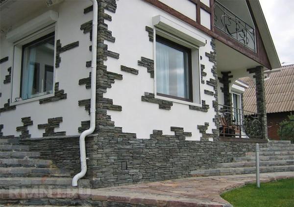 Фасады из декоративного камня цена