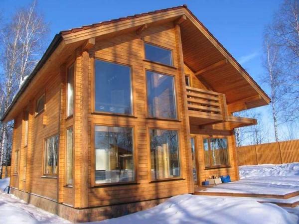 Цена строительства финского дома из профилированного бруса в Минске